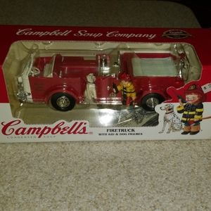 1996 ERTL Collectible Campbell Soup Co. Firetruck